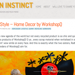 My Design Instinct Blog Feature