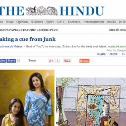 The Hindu Metro Plus Chennai Paper